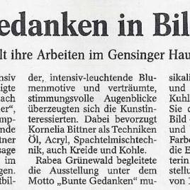 09.04.2005 - Allgemeine Zeitung, Sprendlingen-Gensingen