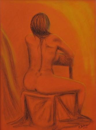 Akt in Orange