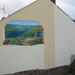 Gestaltete Wand