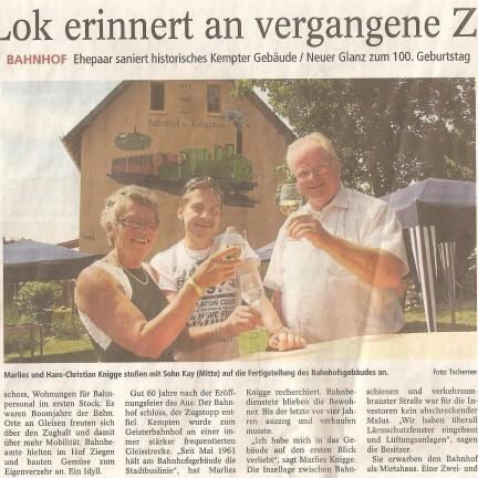 18.07.2013 - Allgemeine Zeitung, Bingen