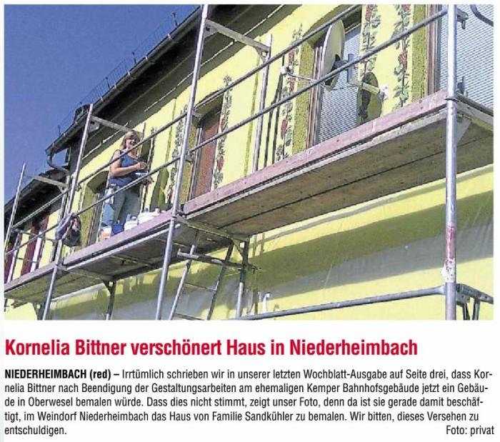 22.08.2013 - Binger Wochenblatt, Bingen