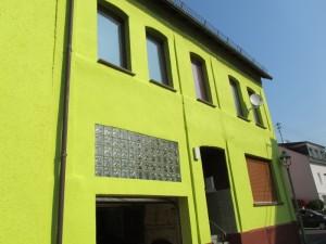 Außenfassade vor Gestaltung